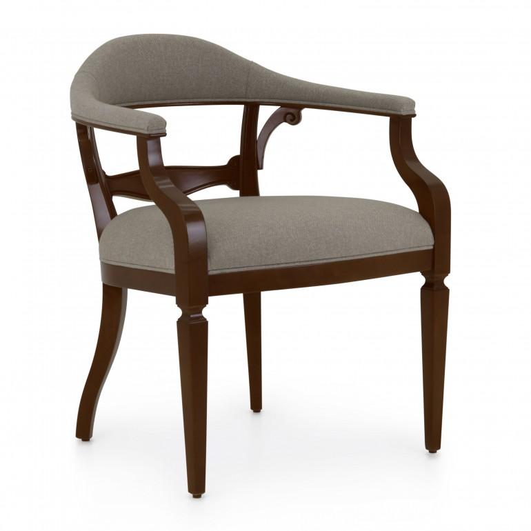 2941 classic style wood armchair taurus b3