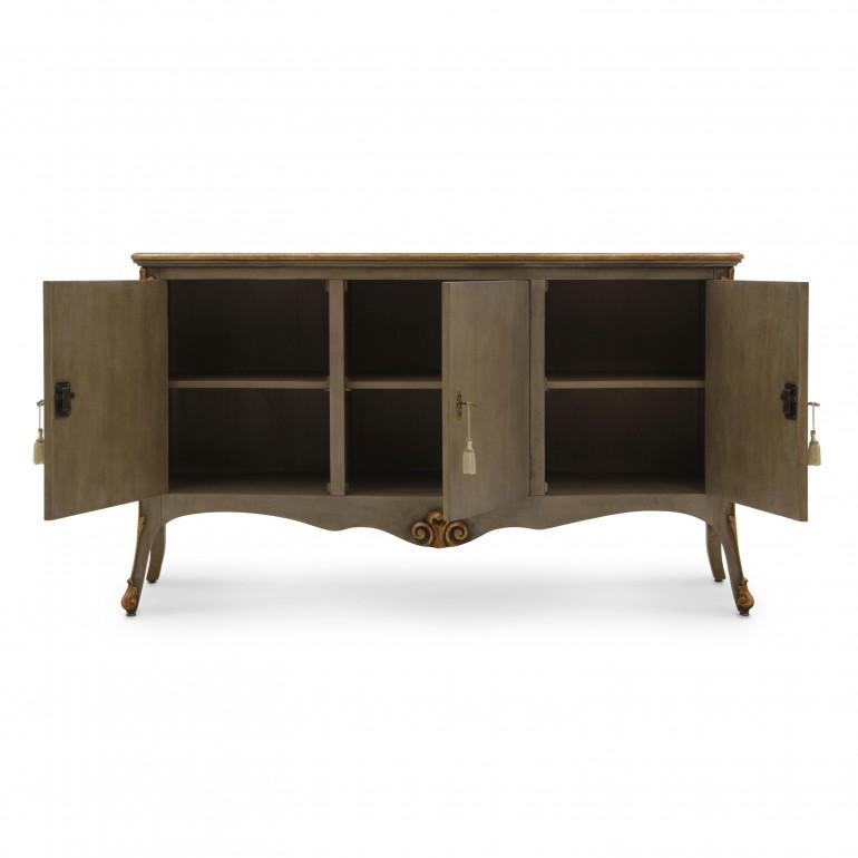2972 classic style wood sideboard aura b7