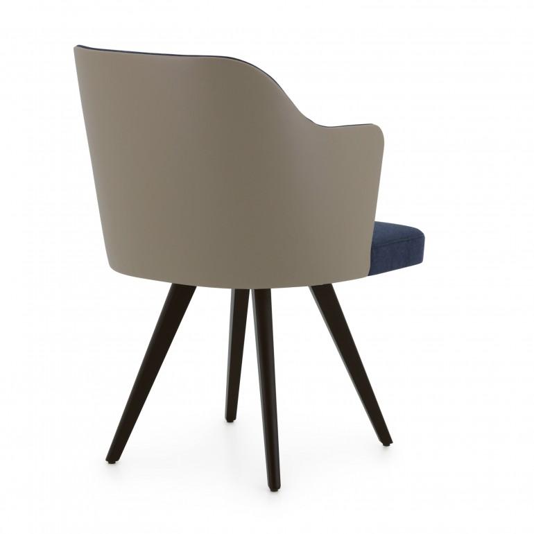 2992 modern style wood armchair custom12 3
