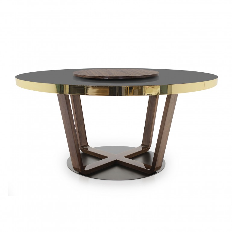 modern style wooden table