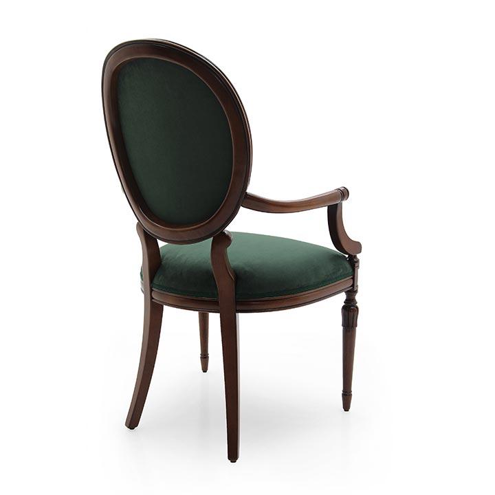 303 classic style wood armchair olga4