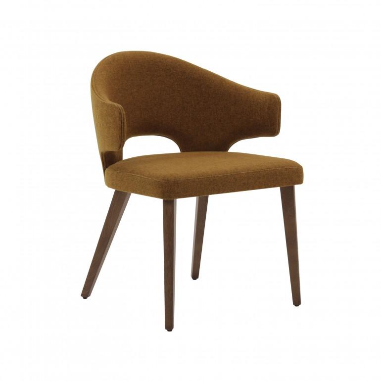 3031 modern style wood armchair eva7