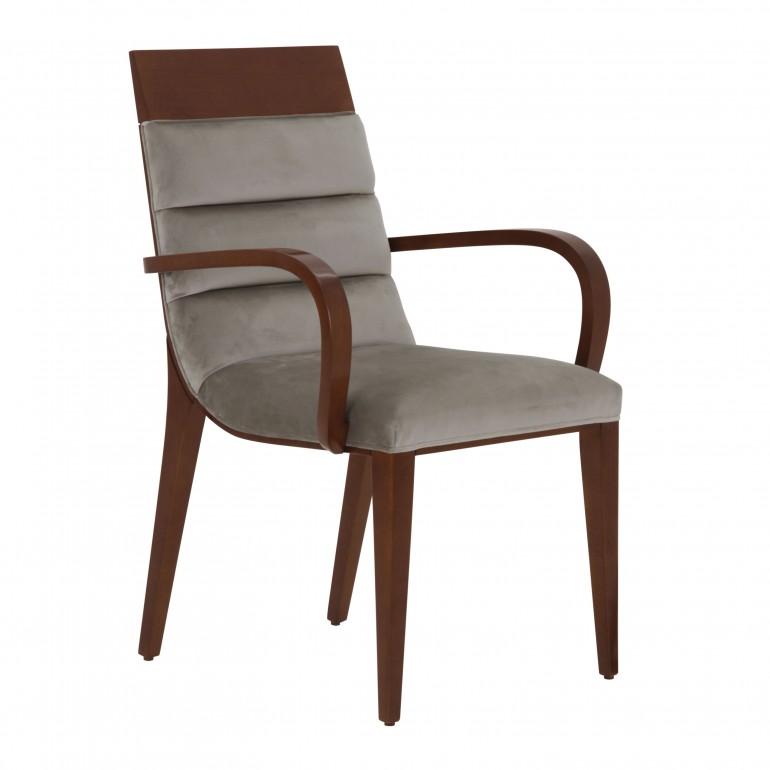 319 modern style wood armchair custom071