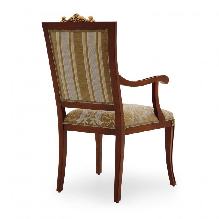 3190 classic style wood armchair lorena3