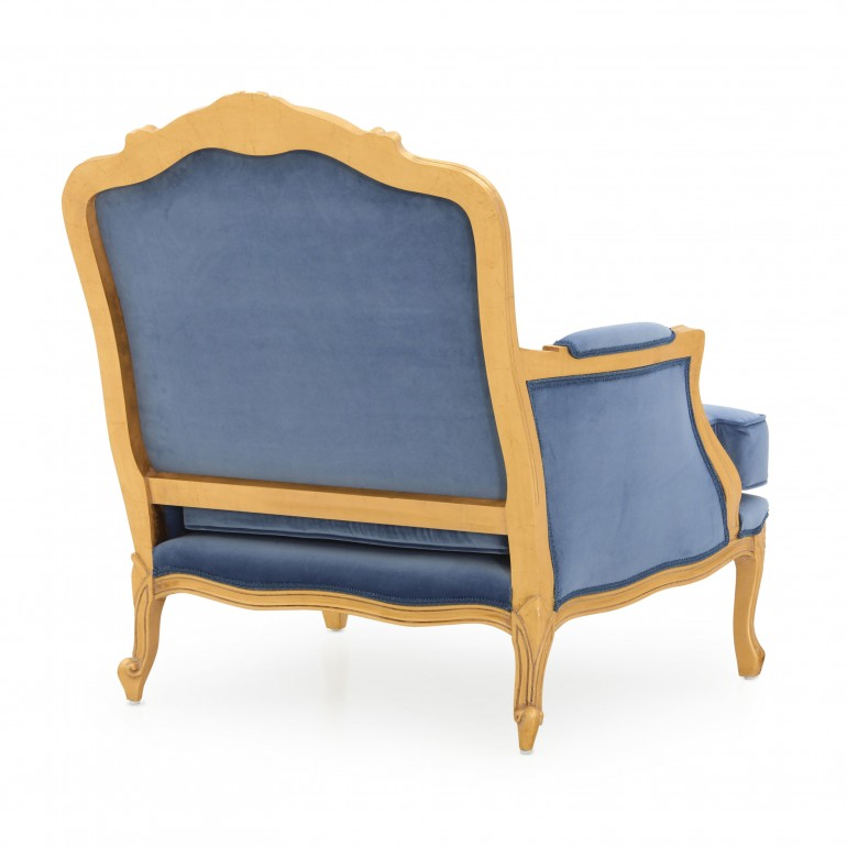 3205 classic style wood armchair spagna b6