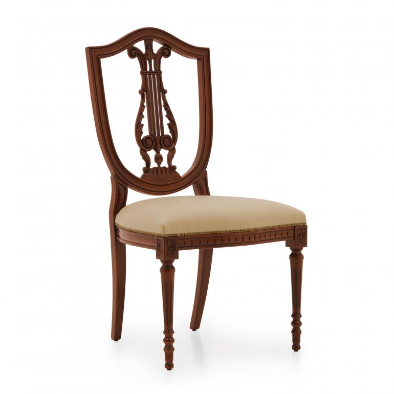 3243 classic style wood chair violino d