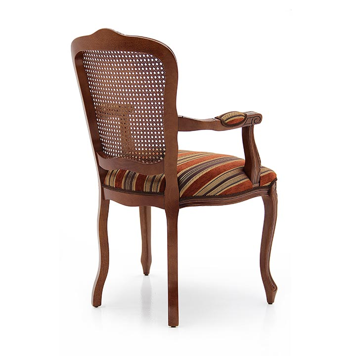 335 classic style wood armchair fiorino3