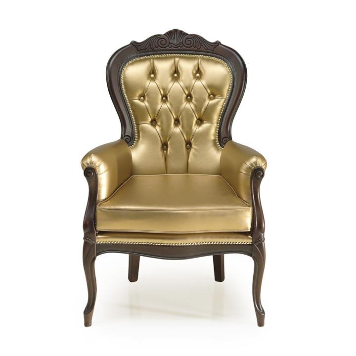 337 classic style wood armchair foglia3