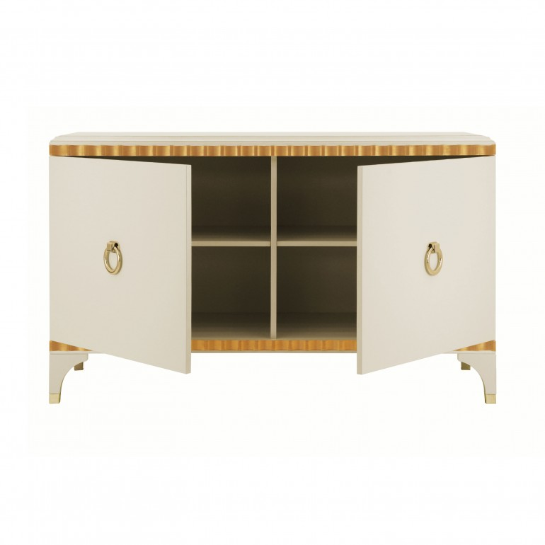 3477 modern style wood chest ellipse e10
