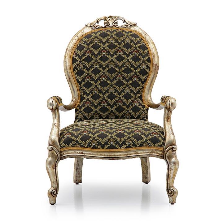 348 classic style wood armchair pollia b3