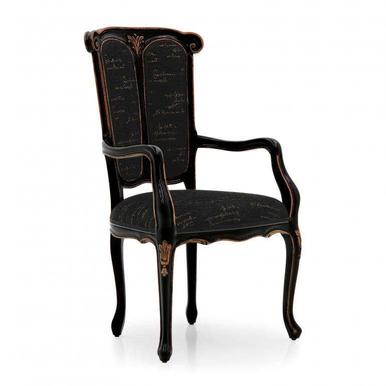 35 classic style wood armchair petrarca