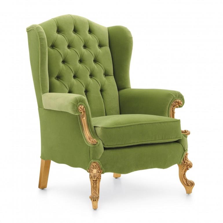 3564 classic style wood armchair eneide6