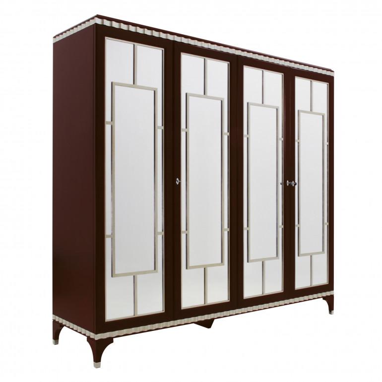 3569 classic style wood wardrobe custom063