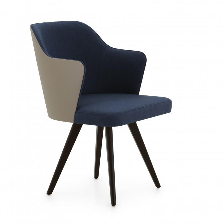3589 modern style wood armchair custom12 2