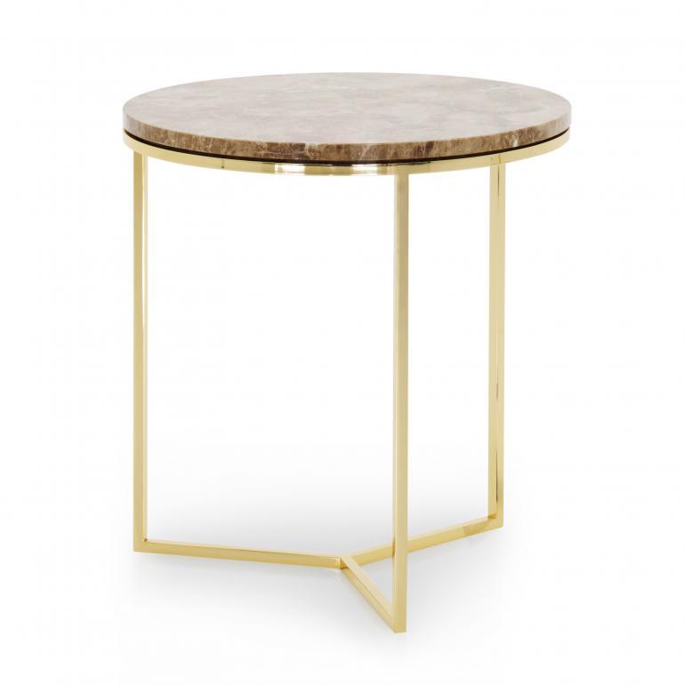 3595 modern style metal table trio c3