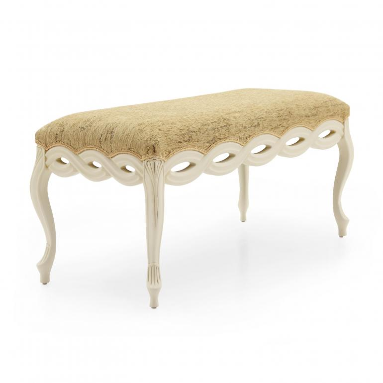 36 classic style wood bench intreccio3