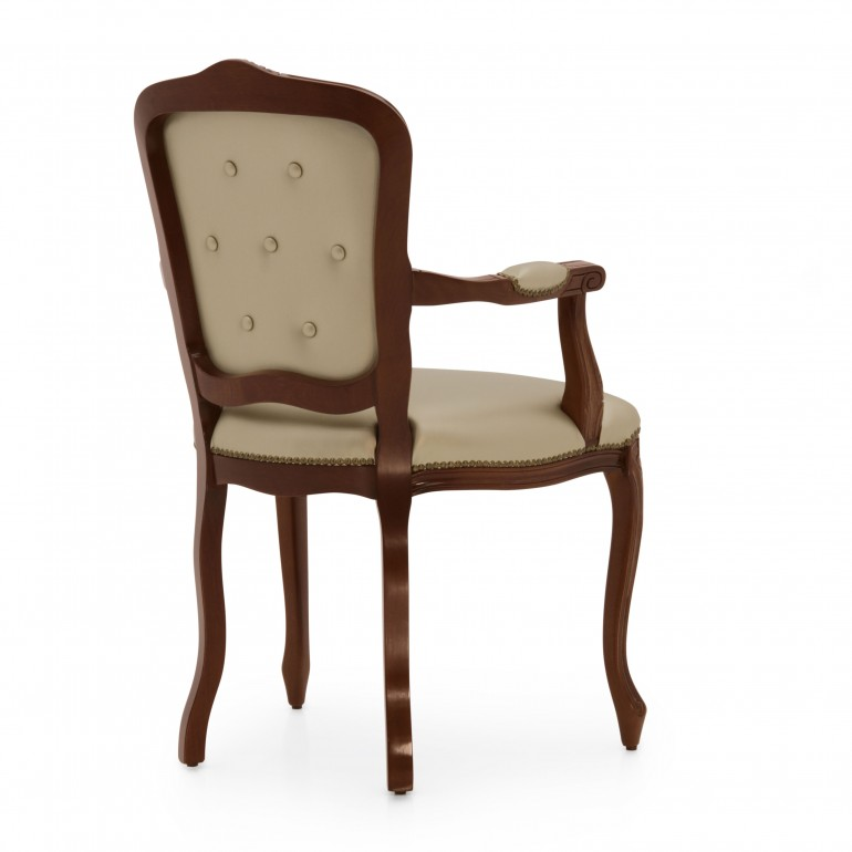 3647 classic style wood armchair fiorino4