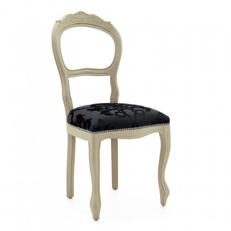 3773 classic style wood chair stellina