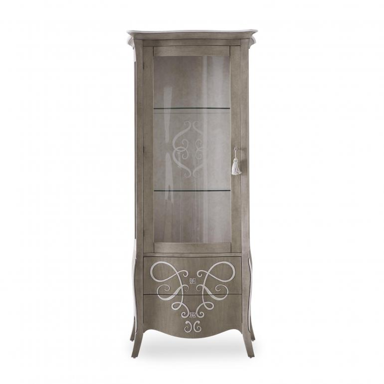 classic style wooden display cabinet
