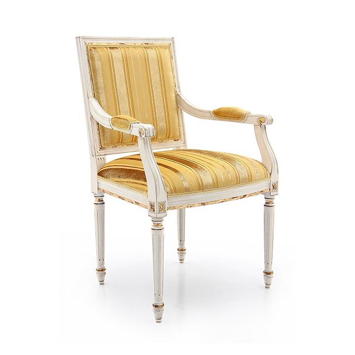 39 classic style wood armchair settecento b