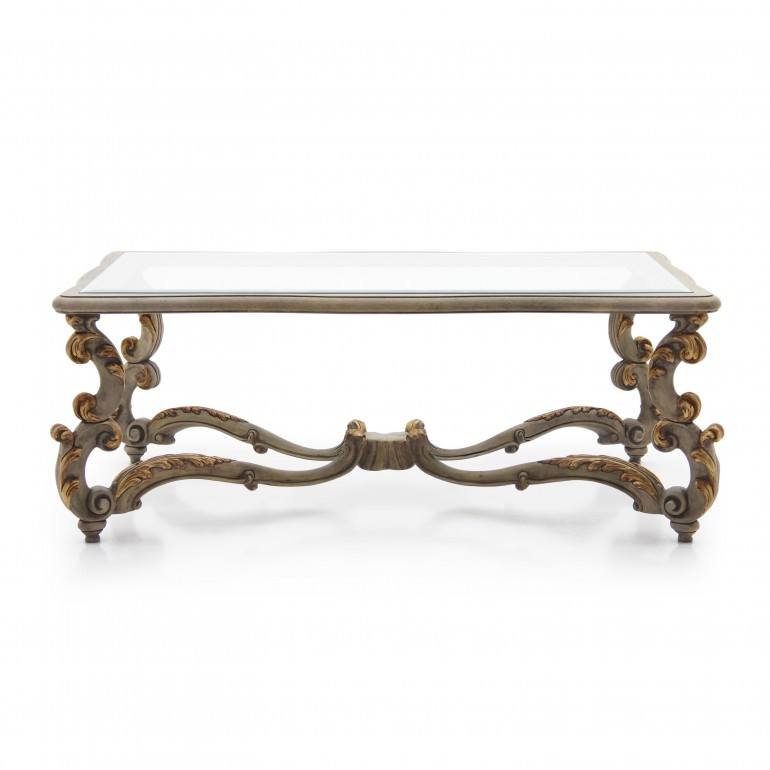3907 baroque style wood rectangular firenze1