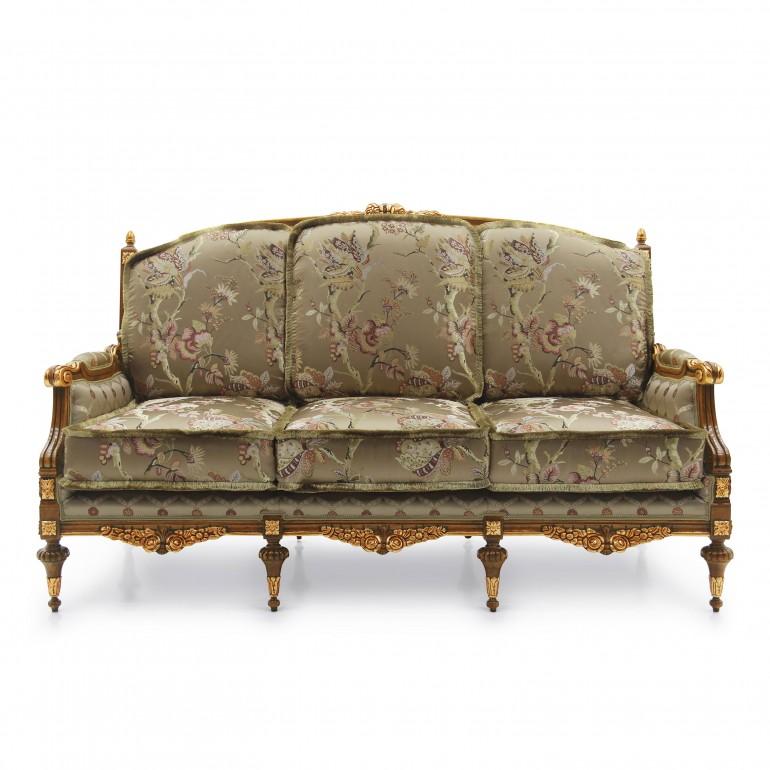 3929 classic style wood sofa giove b3