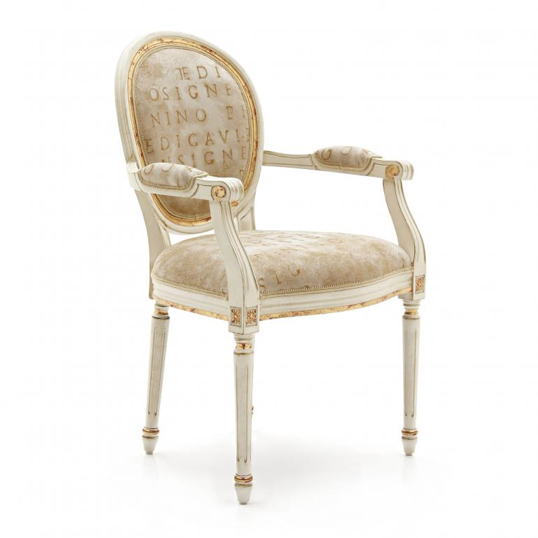 4010 classic style wood armchair luigi2