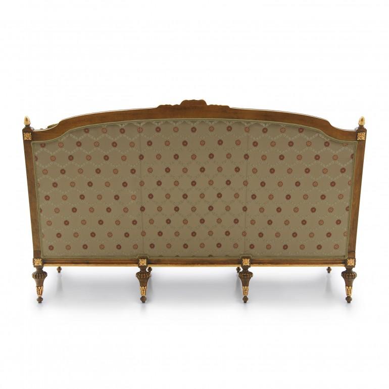 4081 classic style wood sofa giove b5
