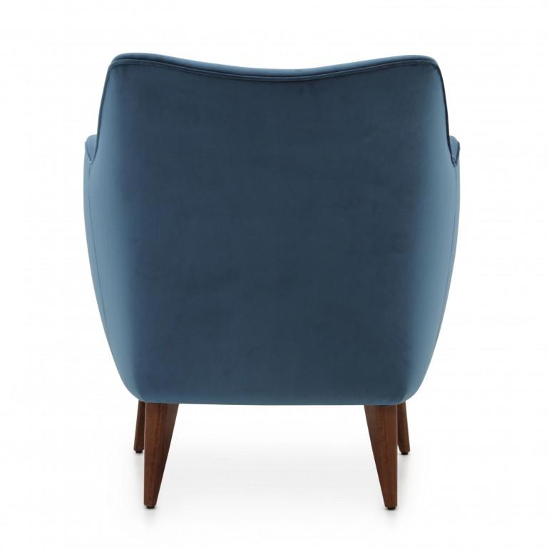 4123 modern style wood armchair split12