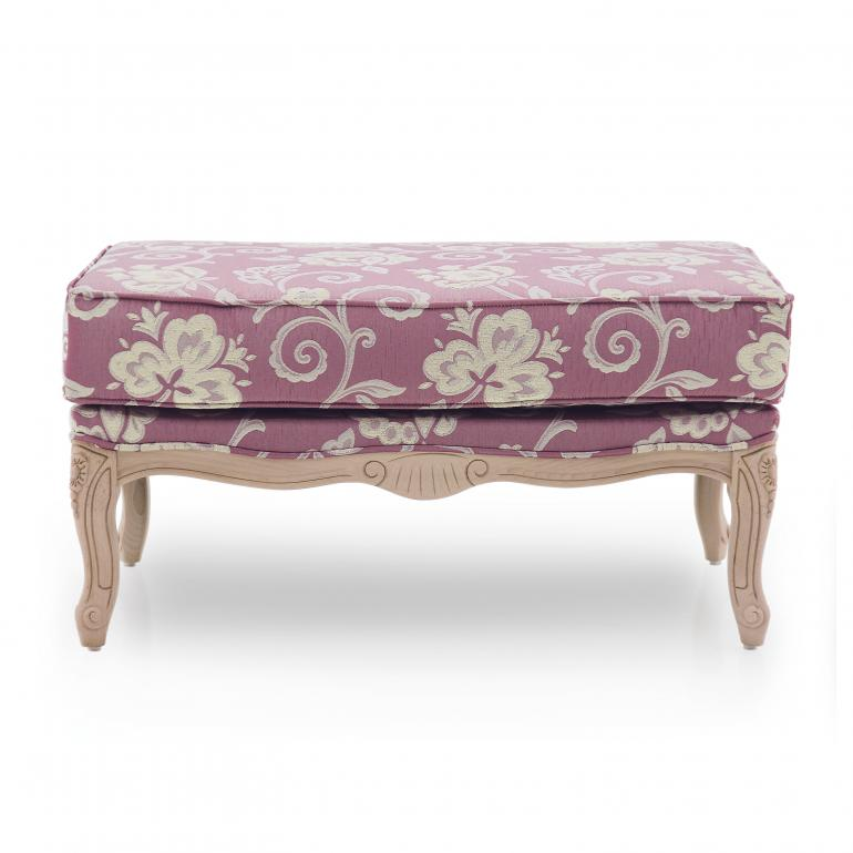 42 classic style wood ottoman acca4