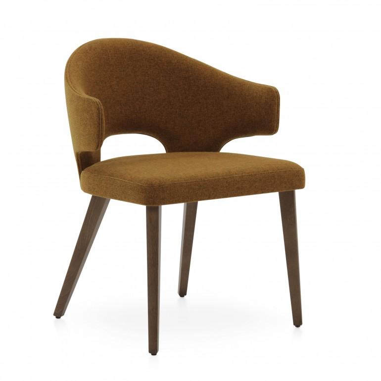 4298 modern style wood armchair eva7
