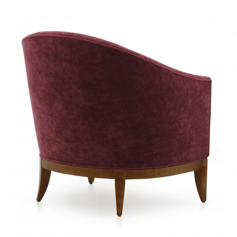439 modern style wood armchair king5