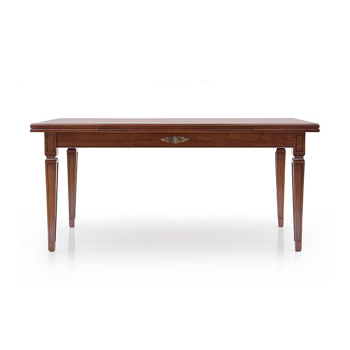 44 classic style wood table archetto