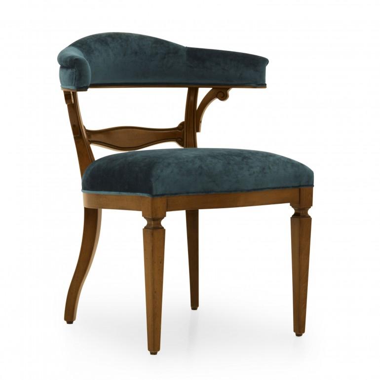 4463 classic style wood armchair taurus