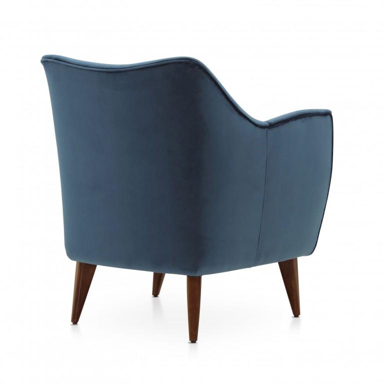 4489 modern style wood armchair split11