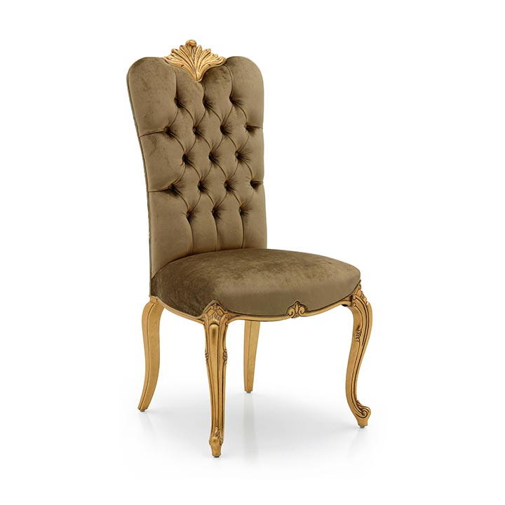 46 baroque style wood chair bronte