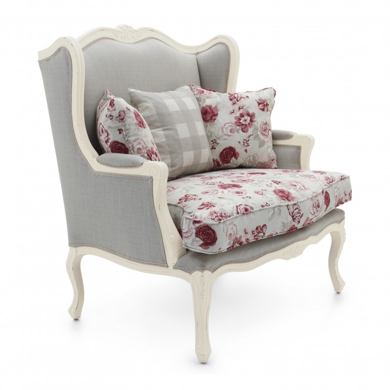 4699 classic style wood armchair stige