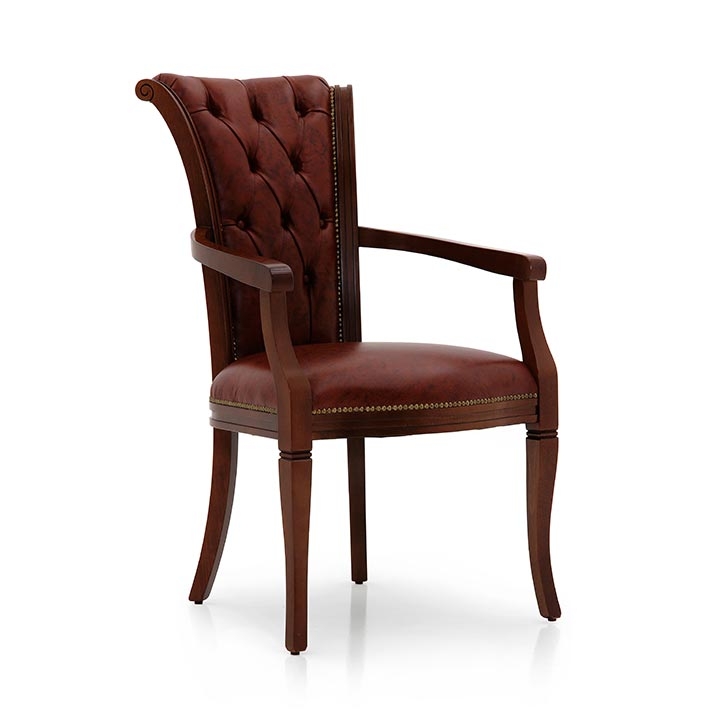 47 classic style wood armchair york