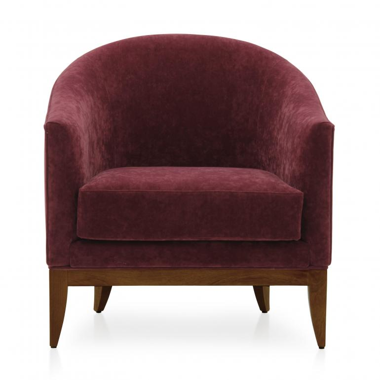 4717 modern style wood armchair king3