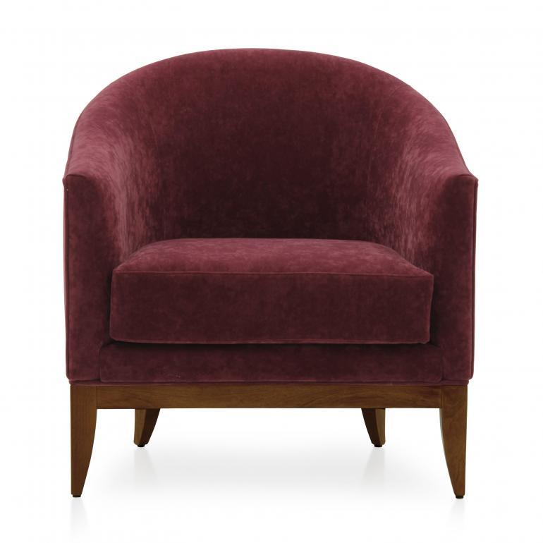 4717 modern style wood armchair king3