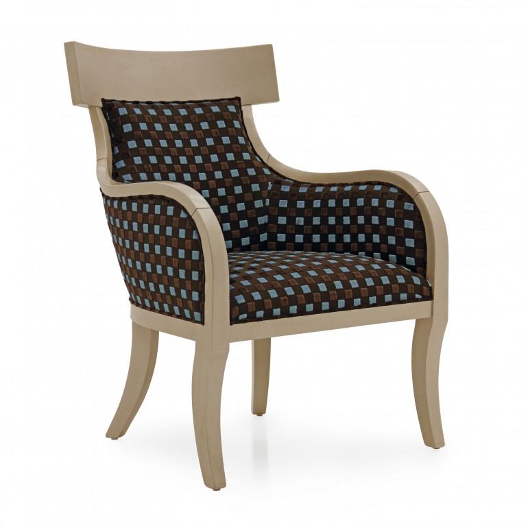 4939 modern style wood armchair taura