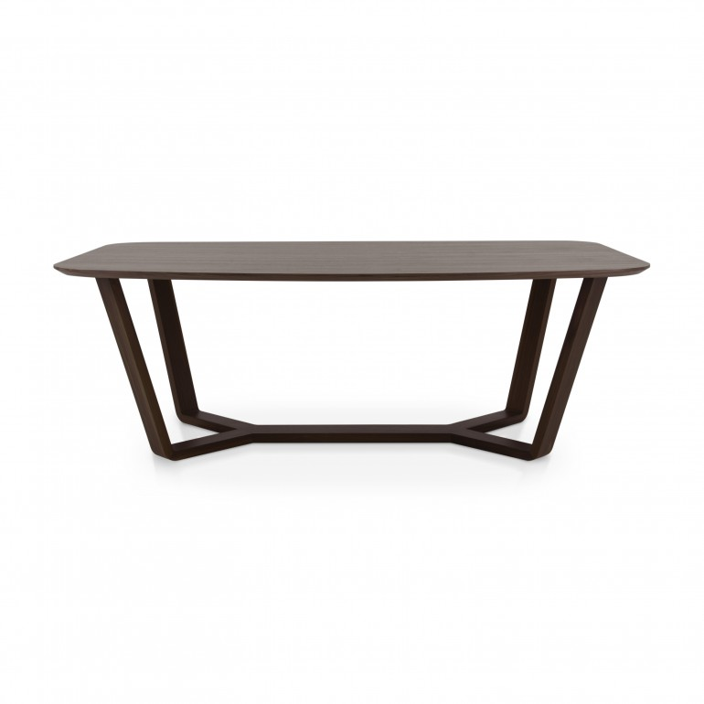 5011 modern style wood table ermione d