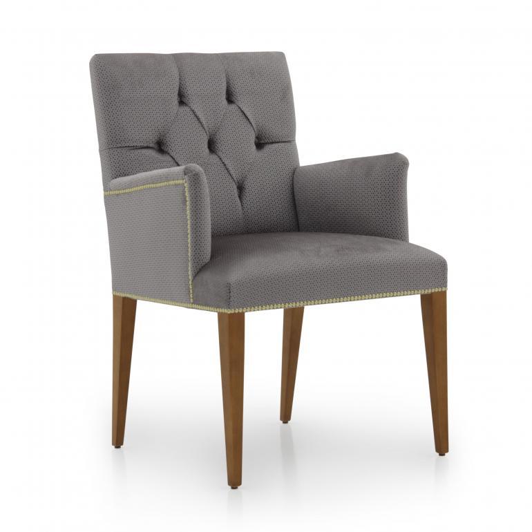 5026 modern style wood armchair arianna4