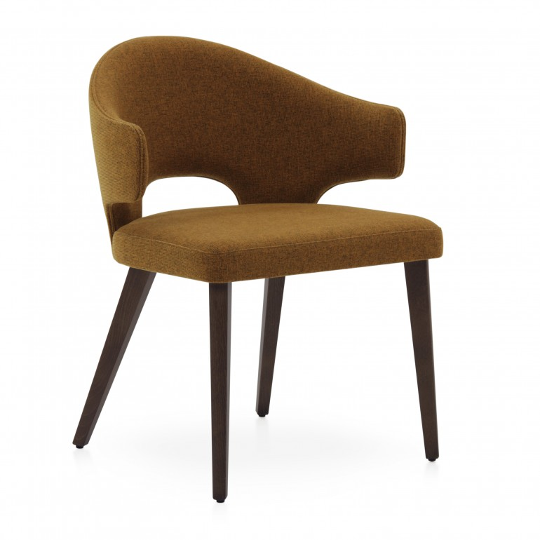 5035 modern style wood armchair eva7