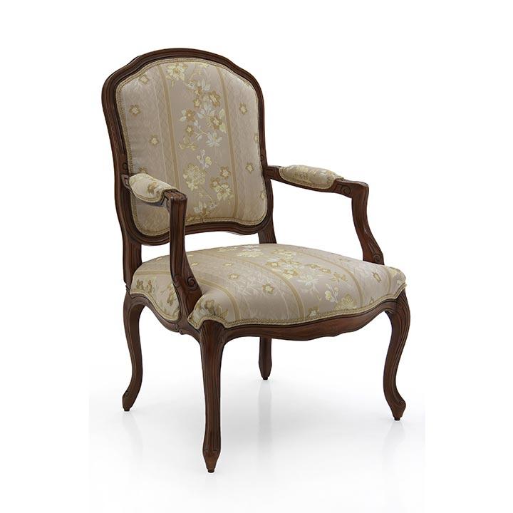 505 classic style wood armchair teseo3