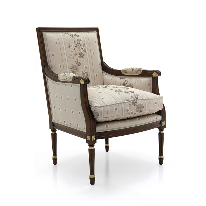 512 classic style wood armchair luigi5