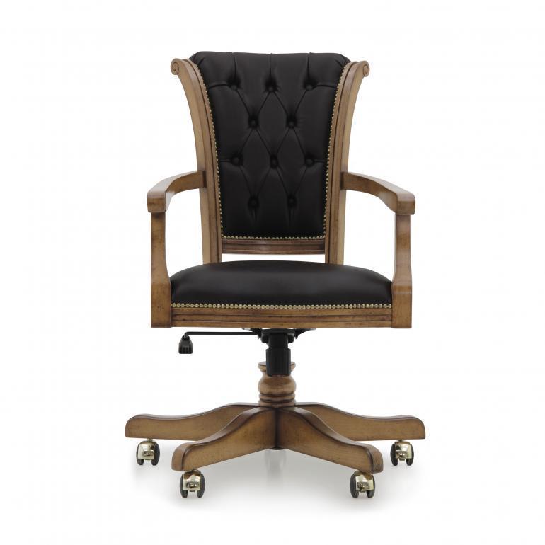 5177 classic style wood armchair paris