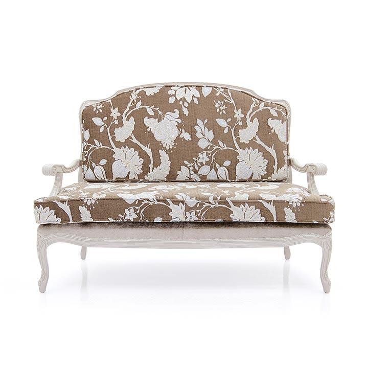 52 classic style wood sofa grace