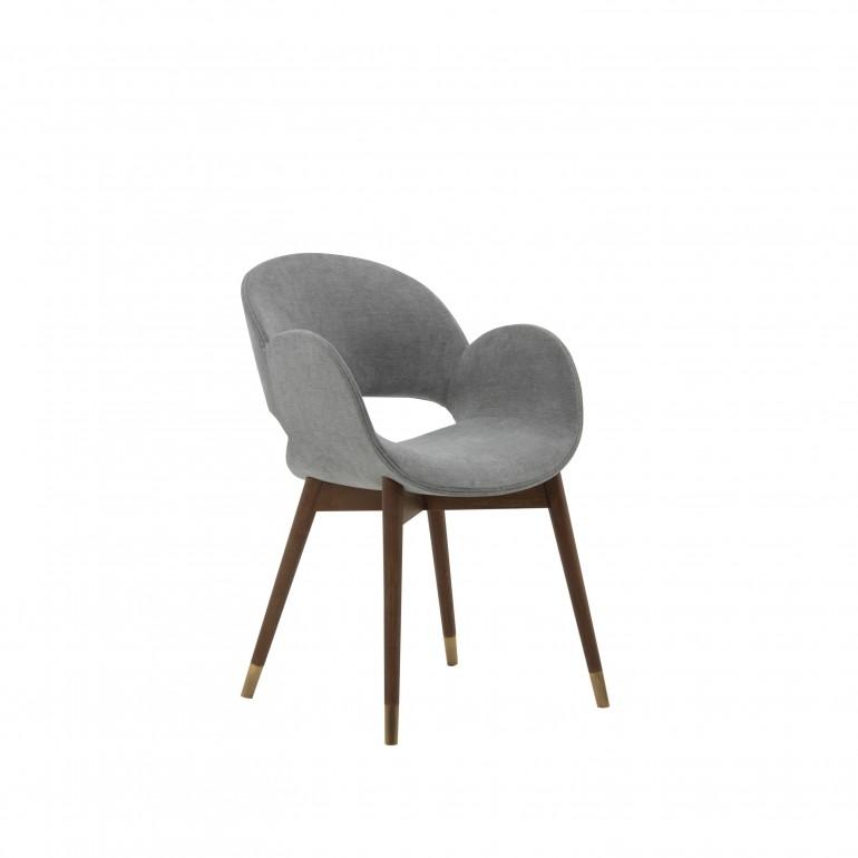 5217 modern style wood armchair mina