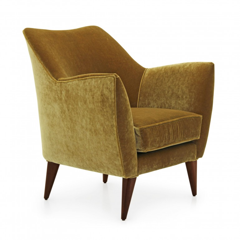 5265 modern style wood armchair split7